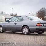 Da ist es : W124 Coupe 300 CE