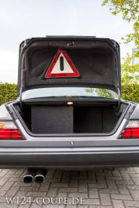 W124 Coupe Heckklappenverkleidung vom MOPF 2