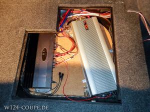 W124 Einbau Steg 310.2 Zapco002